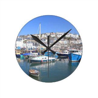 Mevagissey Wall Clock
