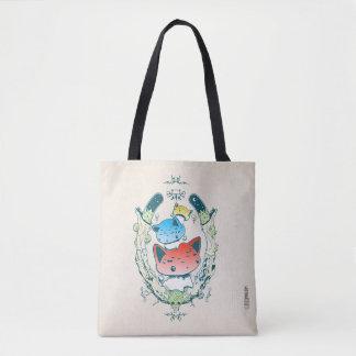 Mewshroom Emblem Tote