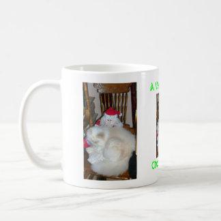 mewy christmouse to mew coffee mug