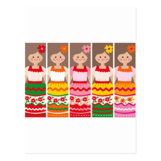 MexcianBookmark Postcard