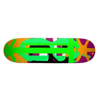 Mexican 1980s - Cactus And Sun Custom Skateboard