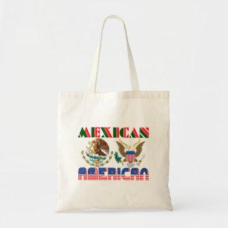 Mexican American Eagles Canvas Bag