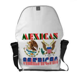Mexican American Eagles Courier Bags