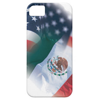Mexican-American Flag iPhone5 Case