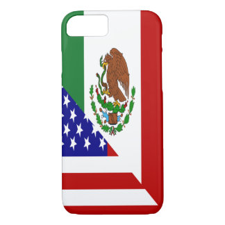 Mexican American Flag iPhone 7 Case