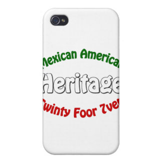 Mexican American Heritage Covers For iPhone 4