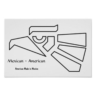 Mexican-American Poster