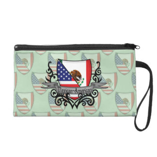 Mexican-American Shield Flag Wristlet
