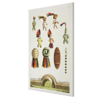 Mexican Arms (colour litho) Canvas Print