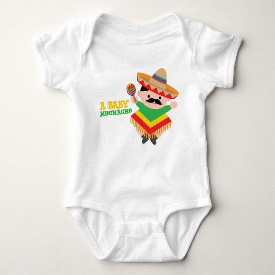 Mexican Baby Bodysuit, Fiesta Baby Shower Gift Baby
