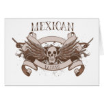 Mexican Badass Greeting Cards