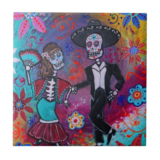 Mexican Bailar Mariachi Dancing Couple by prisarts Small