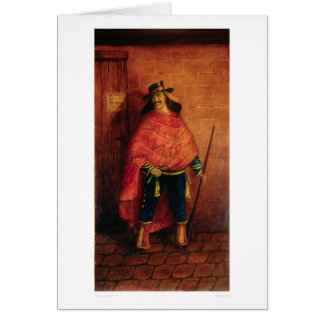 Mexican Bandit Joaquin Murieta (0076A) Greeting Card