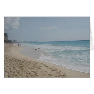 Mexican Beach Card