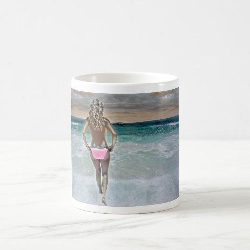 Mexican Beach Girl Coffee Mug