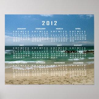 Mexican Beach Vista; 2012 Calendar Posters