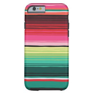 Mexican Blanket Serape Tough iPhone 6/6s Case