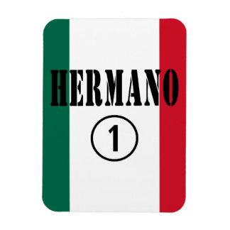 Mexican Brothers Hermano Numero Uno Vinyl Magnet