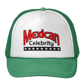 Mexican Celebrity Mesh Hat