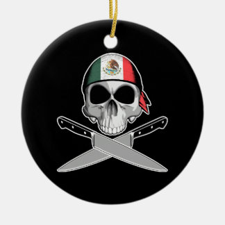 Mexican Chef Christmas Ornament
