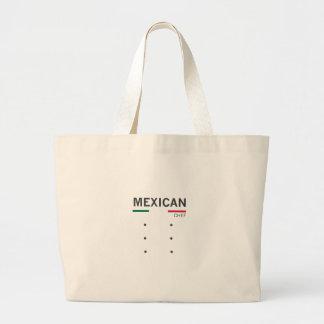 Mexican Chef Jumbo Tote Bag
