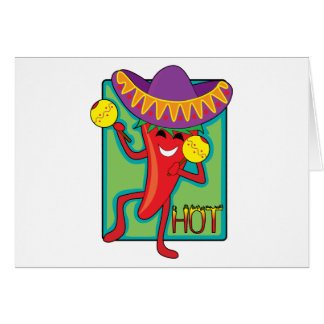 Mexican Chili Card