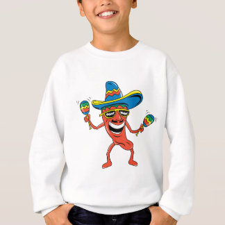 Mexican Chili Pepper Sweatshirt