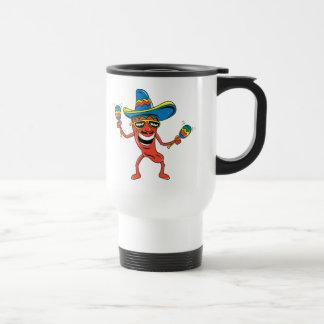 Mexican Chili Pepper Travel Mug