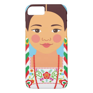 Mexican China Poblana Matryoshka Case