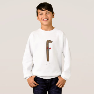 Mexican Churro Fighter with Red Boxing Gloves Sweatshirt