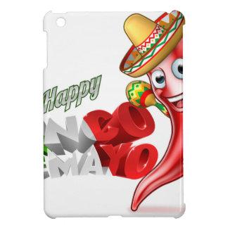 Mexican Cinco De Mayo Chilli Pepper Design iPad Mini Covers