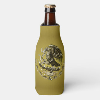 Mexican coat of arms bottle cooler