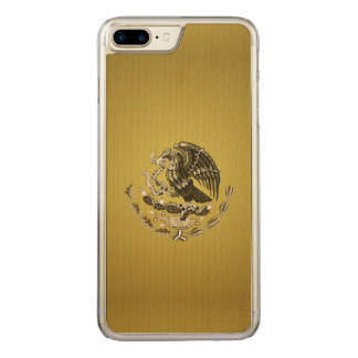 Mexican coat of arms carved iPhone 7 plus case