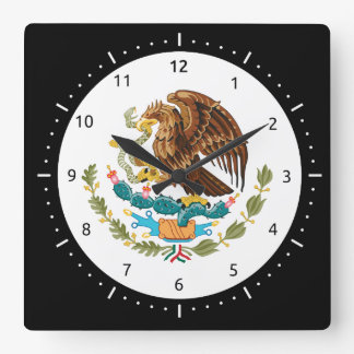 Mexican coat of arms Clocks
