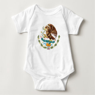 Mexican Coat of Arms for Baby Baby Bodysuit