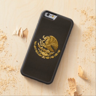 Mexican coat of arms maple iPhone 6 bumper case
