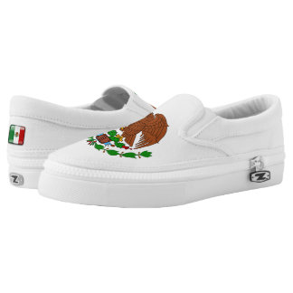 Mexican Coat of arms Slip-On Shoes