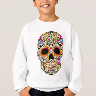 Mexican color skull sweatshirt