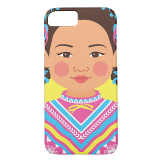 Mexican Dancer Matryoshka Case