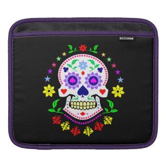 Mexican Day of the Dead Sugar Skull iPad Sleeve
