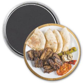 Mexican Dinner Refrigerator Magnet