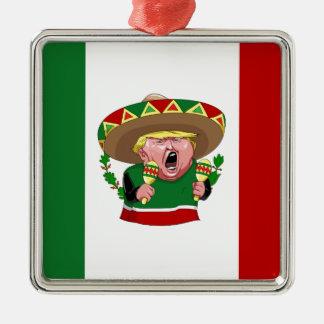 mexican donald trump christmas ornament