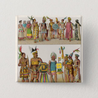 Mexican Dress 15 Cm Square Badge