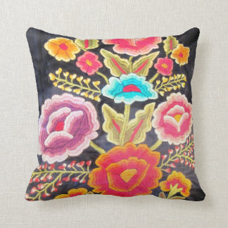 Mexican Embroidery design Cushion