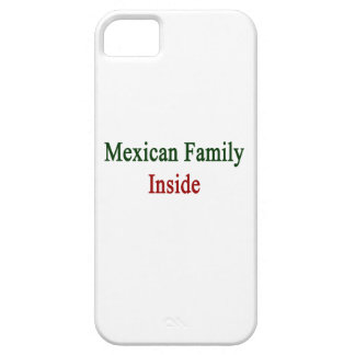 Mexican Family Inside iPhone 5 Cover