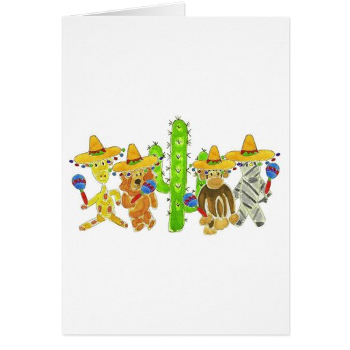 Mexican Fiesta Critters Cards