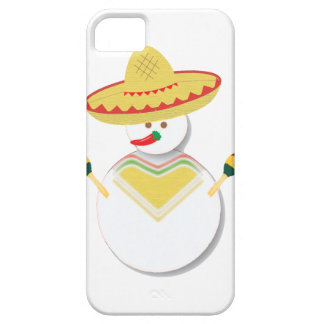Mexican Fiesta Snowman Phone Case iPhone 5 Cases