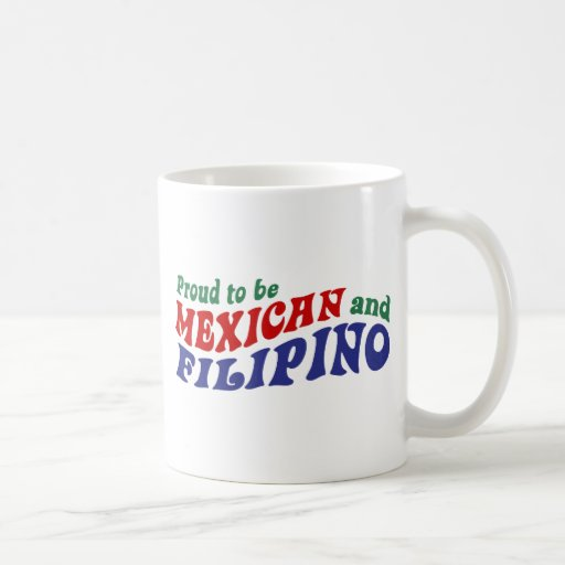 Mexican Filipino Coffee Mug