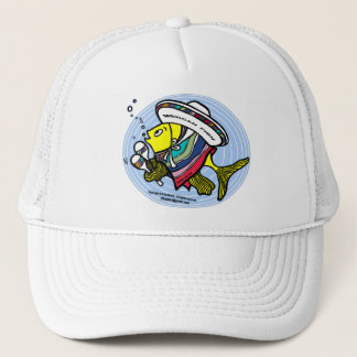 Mexican Fish in a circle Trucker Hat