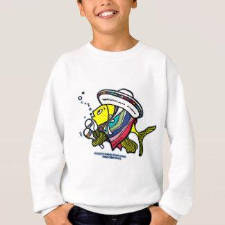 Mexican fish sweatshirt